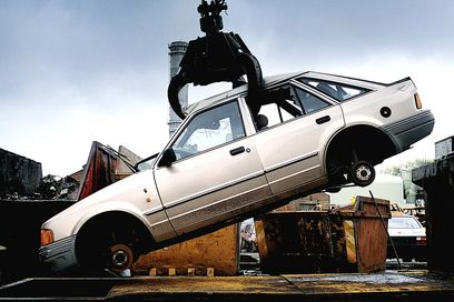 coche desguace