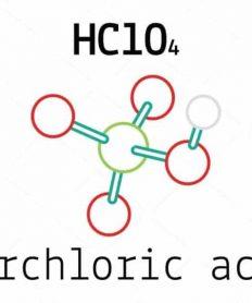 El ácido perclórico como oxidante