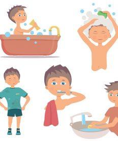 La higiene de la persona: importancia y normas
